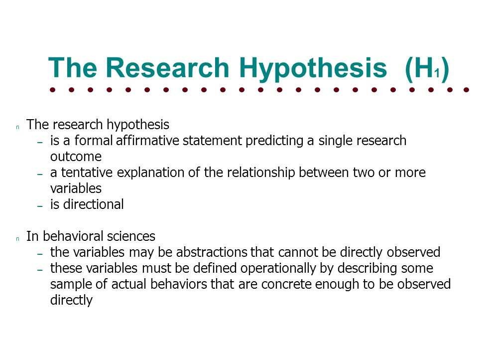 Null Hypothesis Definition and Examples