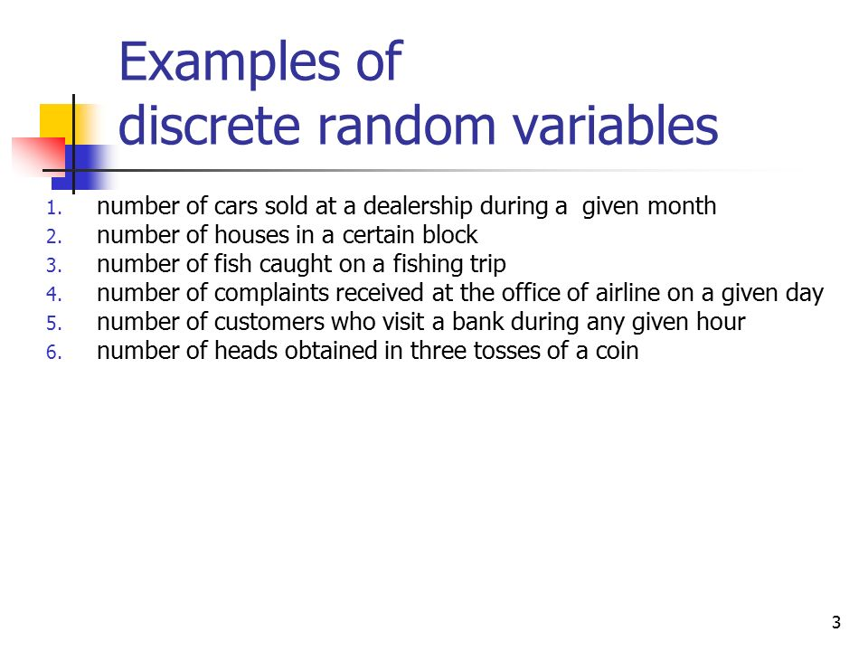 Examples Of Discrete Variables Image Collections Example Cover