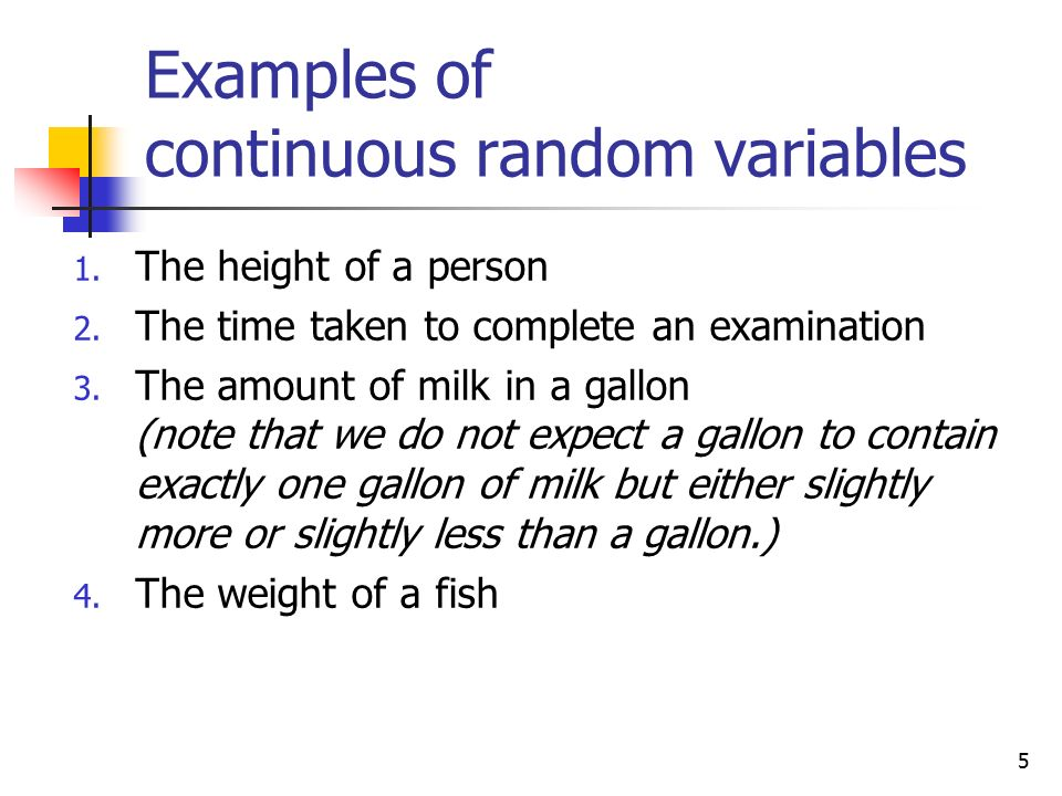 Definition A Random Variable Is A Variable Whose Value Is Determined