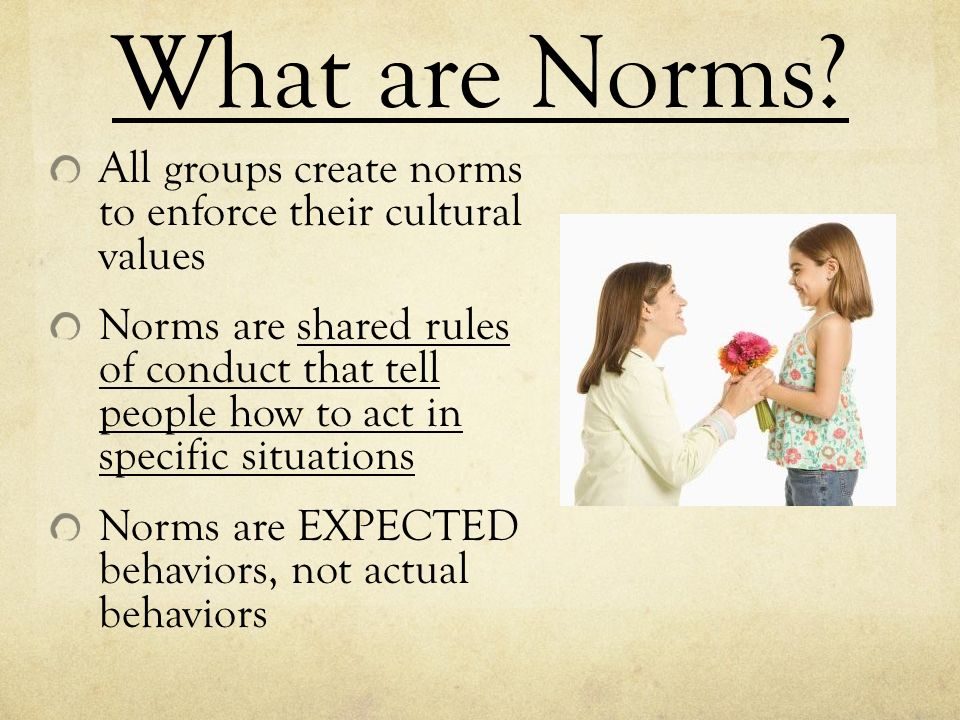 what are norms