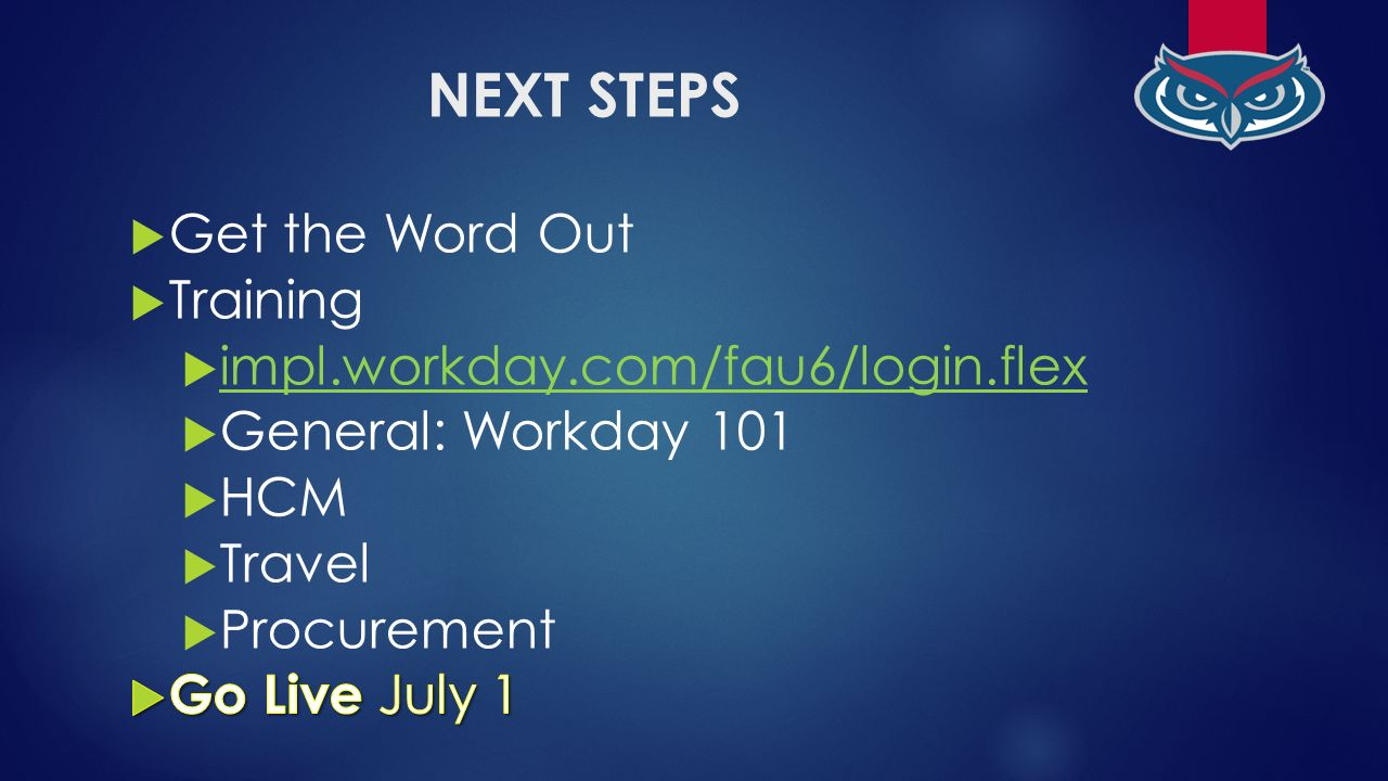 Workday HCM FACULTY TRAINING - ppt video online download