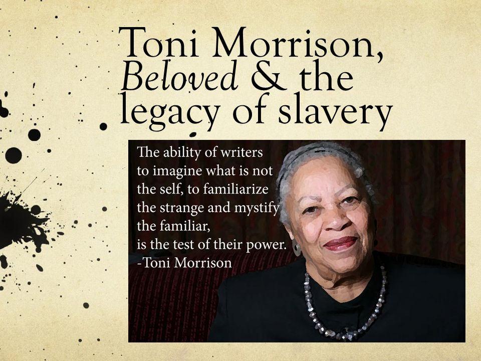 literary devices in beloved by toni morrison