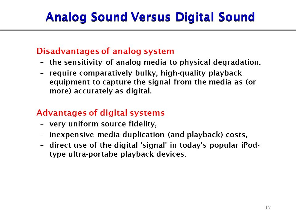 Audio Interfacing Chapter 3 1  Audio Interfacing Standard