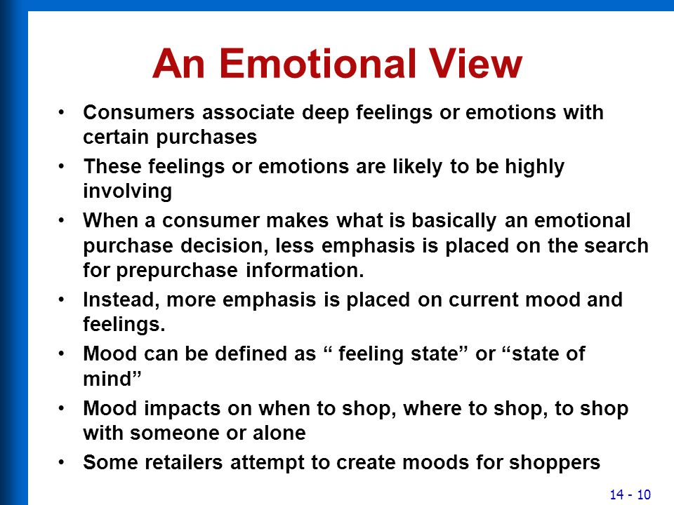 emotional purchase definition