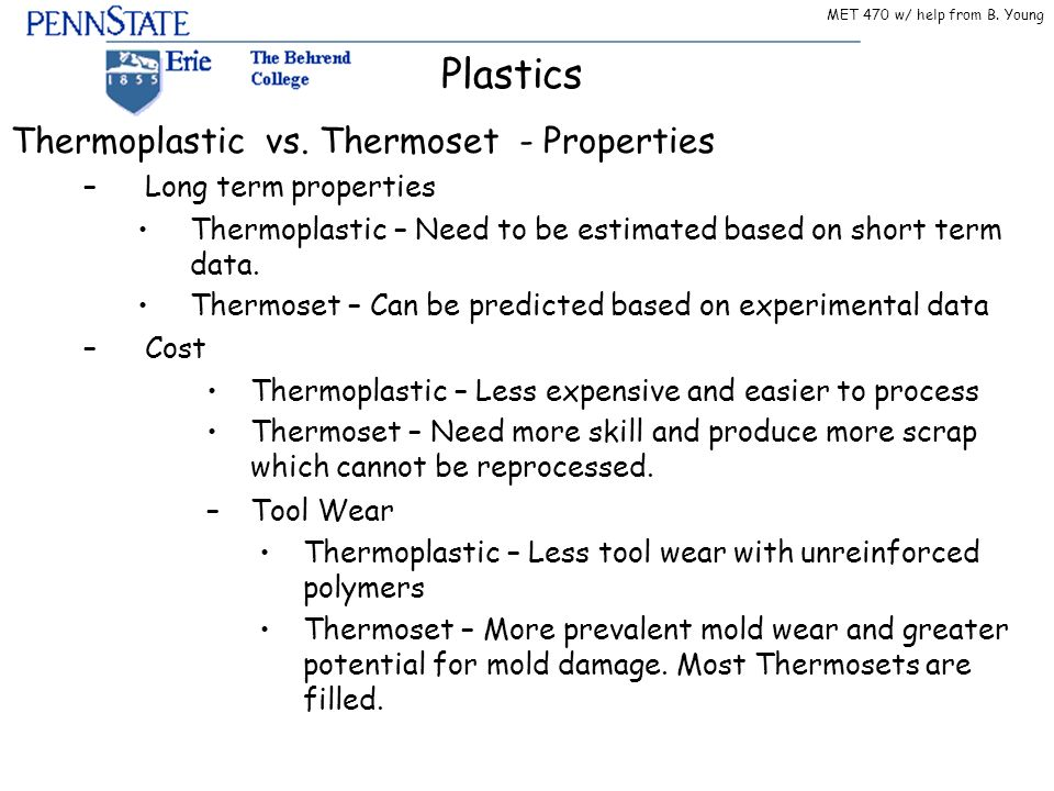 Plastics Just Cover 4 15 Thermoset Vs Thermoplastic Rest Is