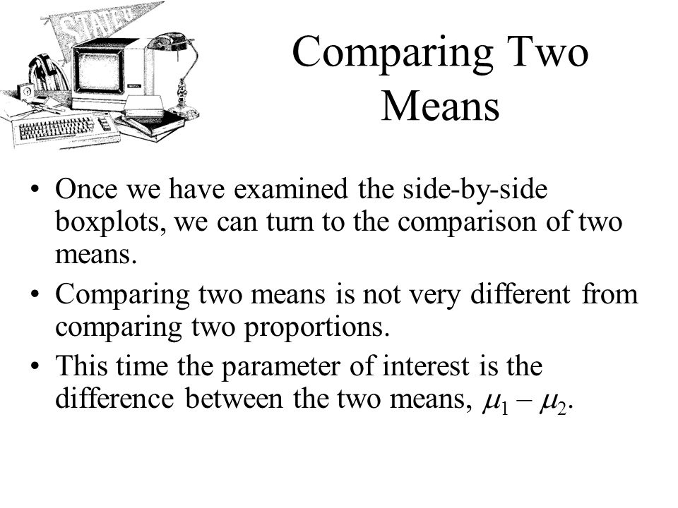AP Statistics Chapter 24 Comparing Means  - ppt video online download