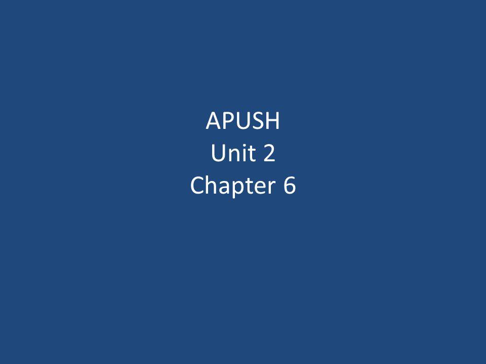 apush chapter 6