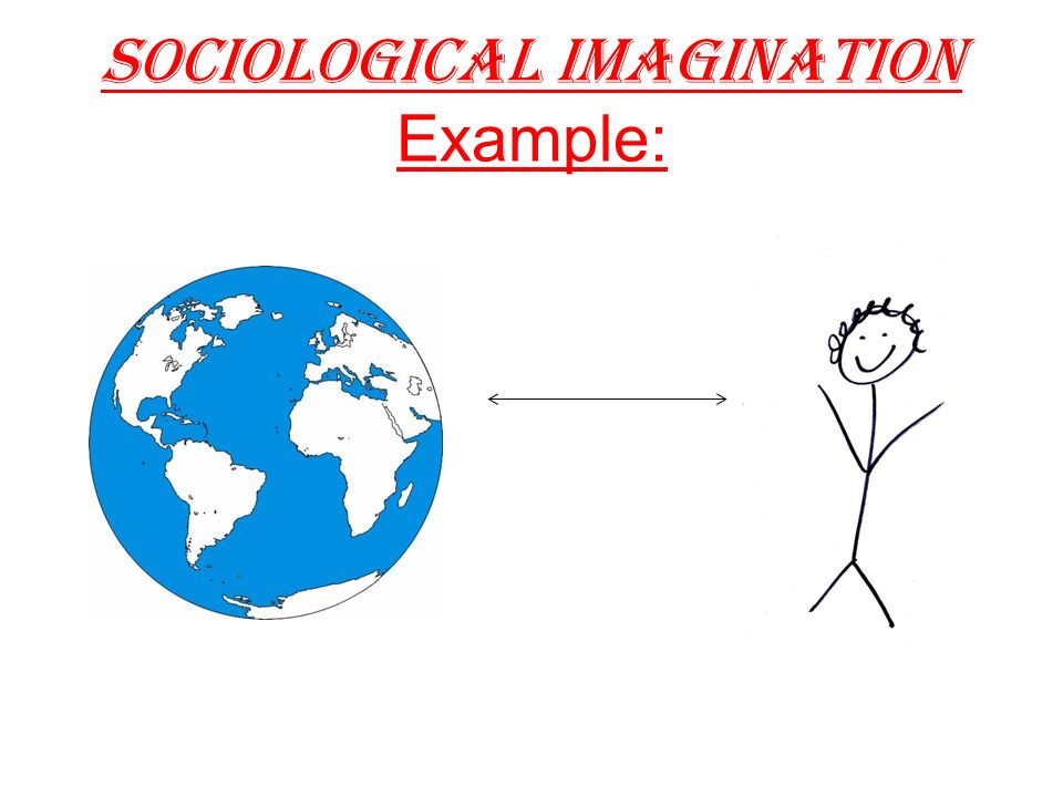 what is an example of sociological imagination