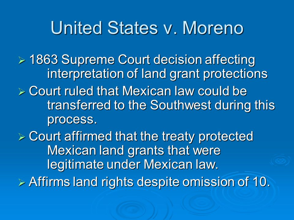 Article 10 Protocol of Queretaro California Land Act of ...