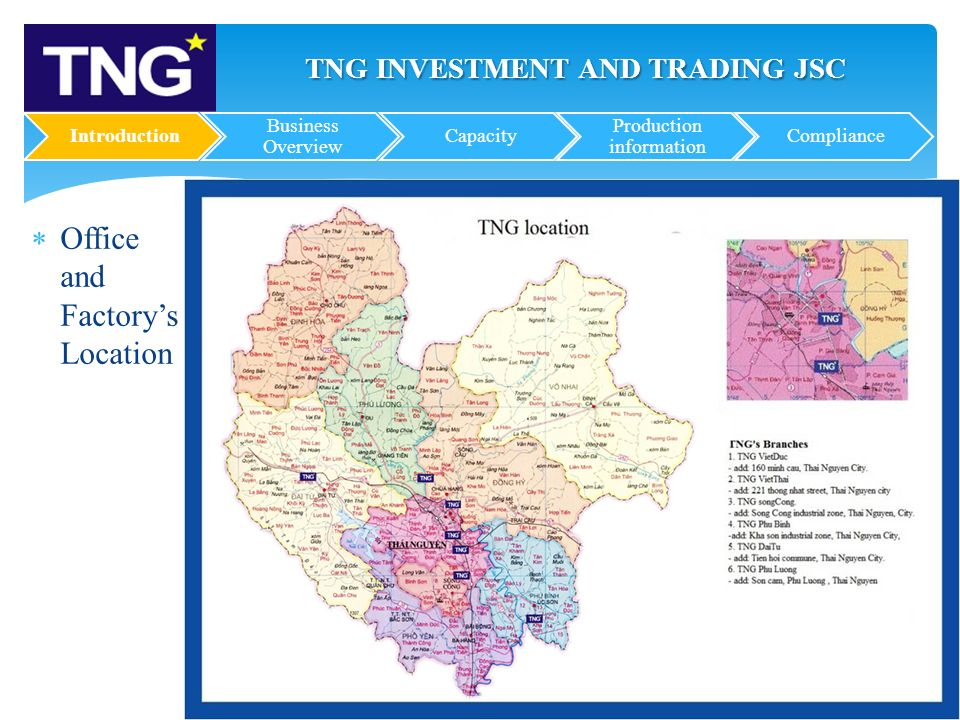 TNG INVESTMENT AND TRADING JOINT COMPANY- PROFILE - ppt download