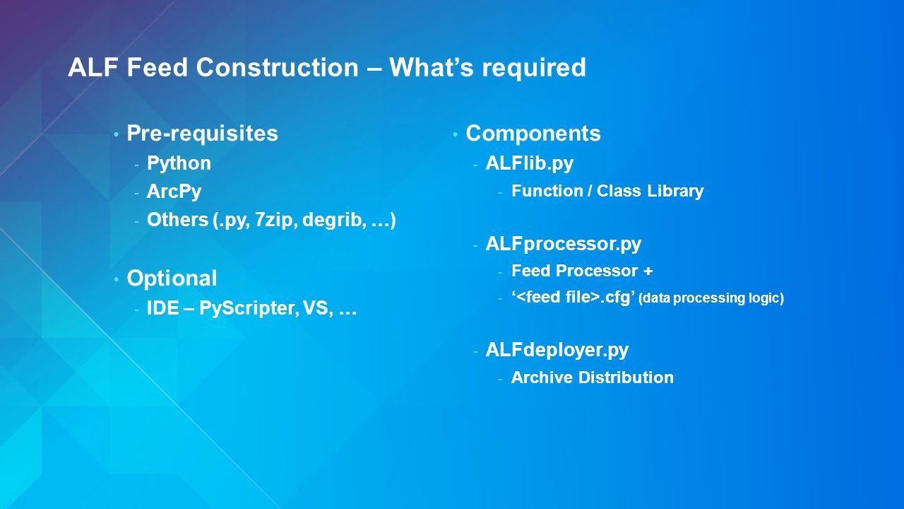 Real-Time GIS Use Cases and Implementation Patterns - ppt