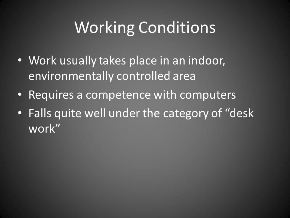 Aerospace Engineer Working Conditions : Aerospace engineering ppt download