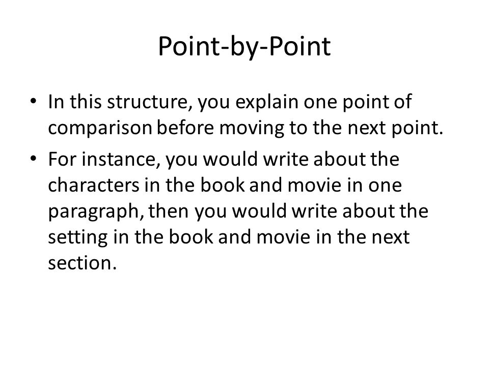 Essay Paper Topics For Instance You Would Write About The Characters In The Book And Movie In  One Paragraph Then You Would Write About The Setting In The Book And Movie  In  What Is A Thesis Statement In A Essay also English Literature Essay Questions Comparecontrast Essays  Ppt Download Healthy Eating Essays