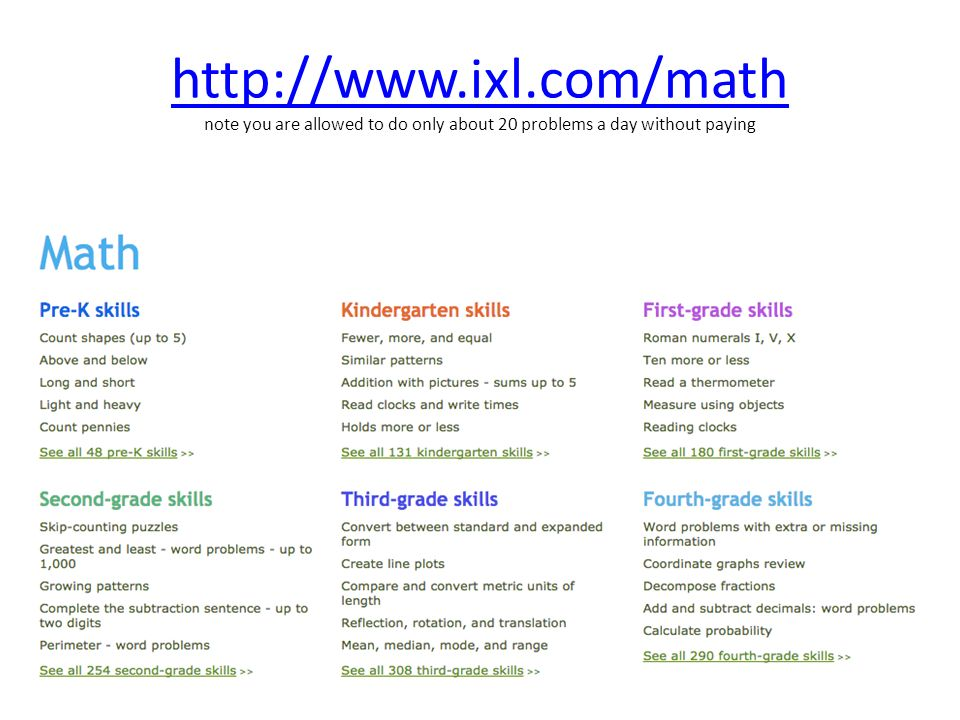 Perfect Www Ixl Com Grade 1 Ideas - Mathematics for Exercise ...