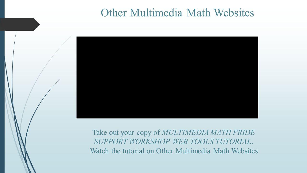 Math PRIDE Support Workshop - ppt video online download
