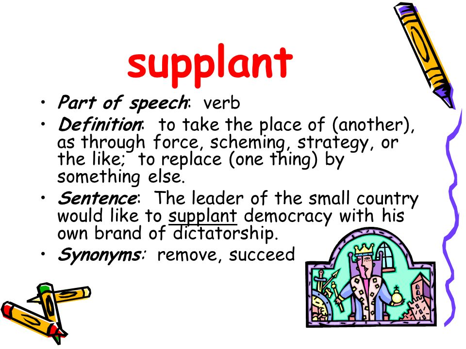 Vocabulary Chapter 1: Read the sentences carefully for