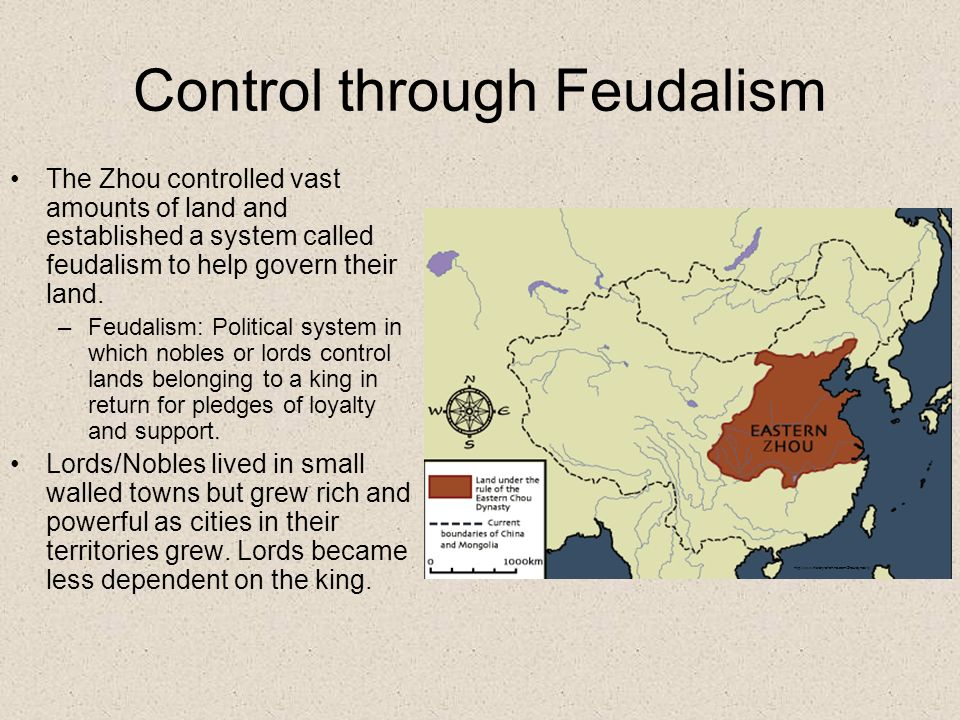 Control through Feudalism
