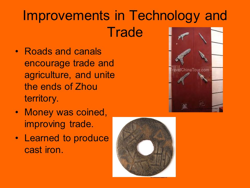 Improvements in Technology and Trade