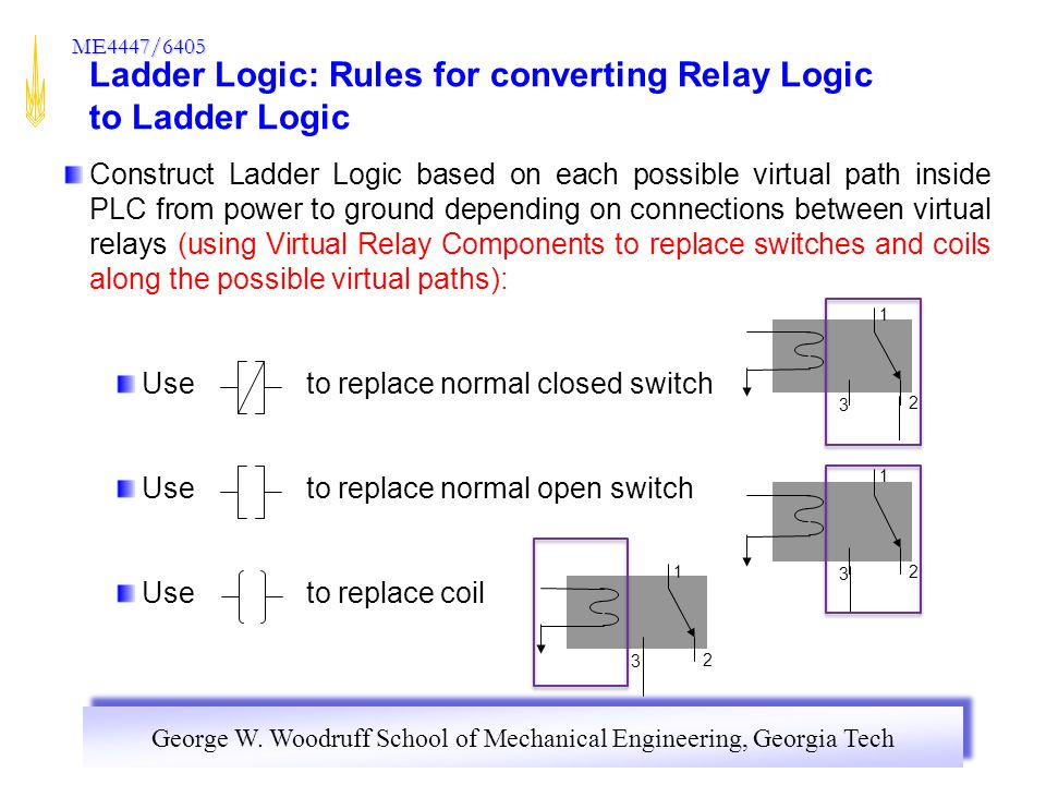 Section 1 relay control panels ppt download 48 ladder logic rules ccuart Images