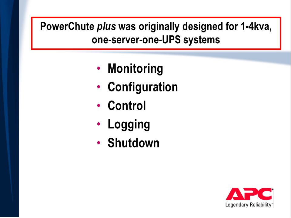 APC Web/SNMP Management Card and PowerChute Network Shutdown