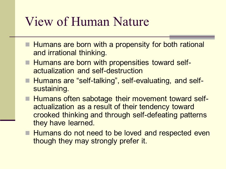 are humans rational essay Rational choice theory essay sample the rational choice approach to crime causation is composed of several different concepts according to this theory, criminal behavior is the product of careful thought and planning.