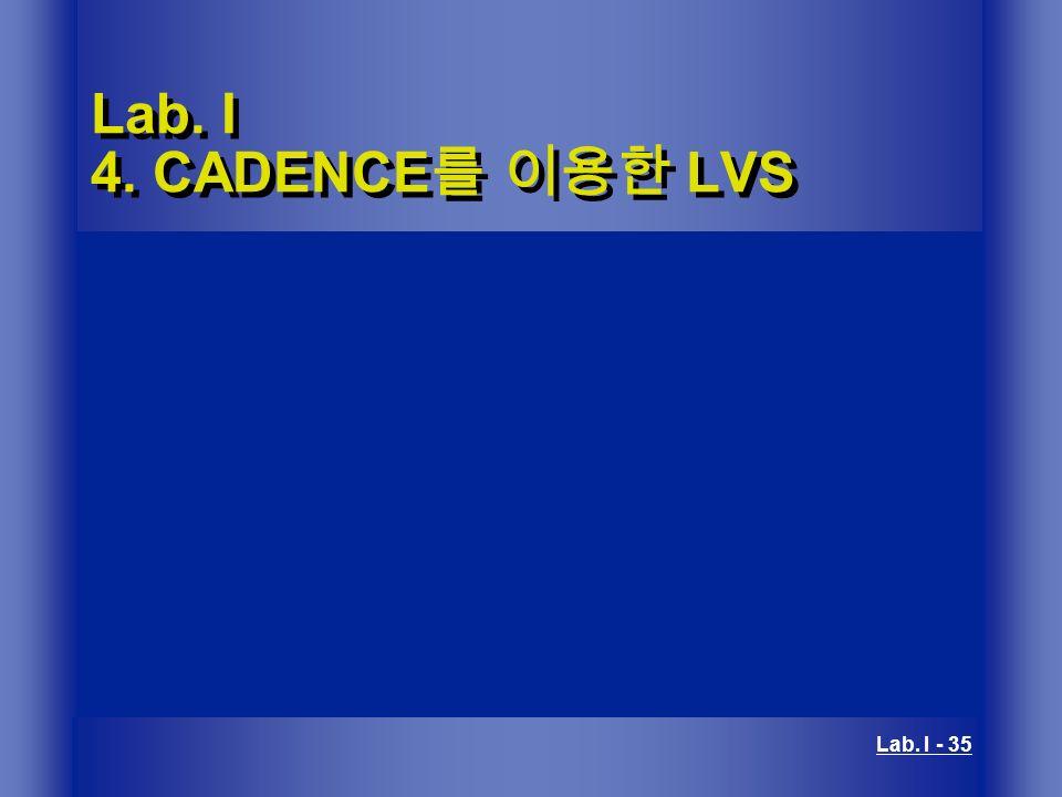 Lab  I 1  CADENCE를 이용한 Layout - ppt video online download