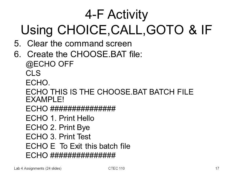 batch file exit after command