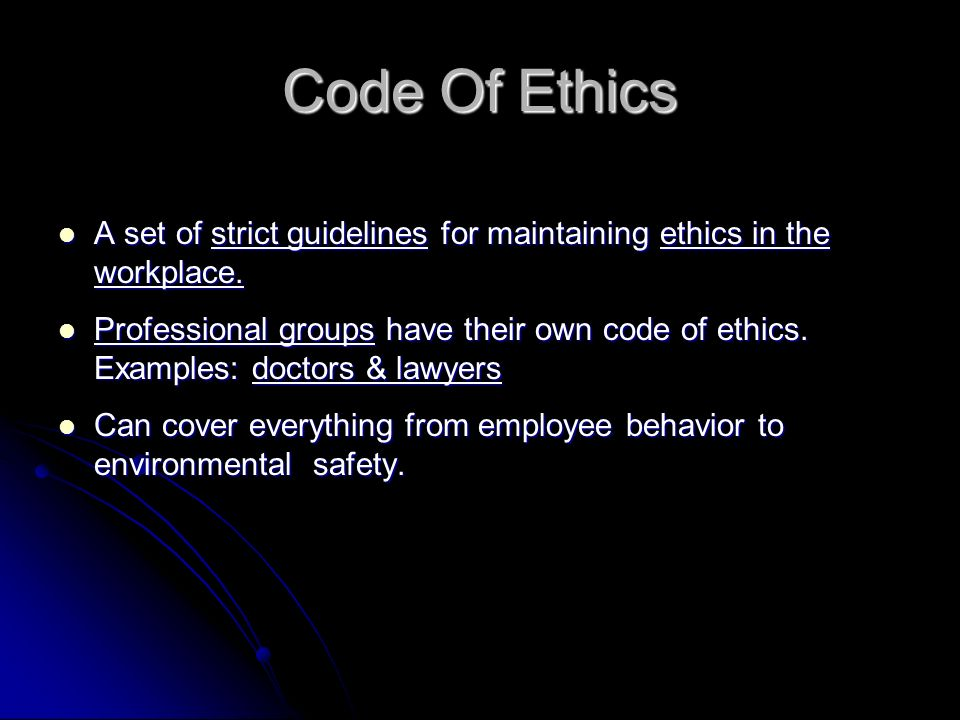 code of sexual ethics Code of medical ethics opinion 911 romantic or sexual interactions between physicians and patients that occur concurrently with the patient physician relationship are unethical.