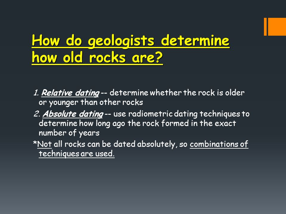 What Is The Difference Between Relative Dating And Radiometric Dating Of Fossils