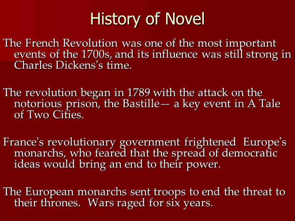 A Tale Of Two Cities By Charles Dickens Ppt Download
