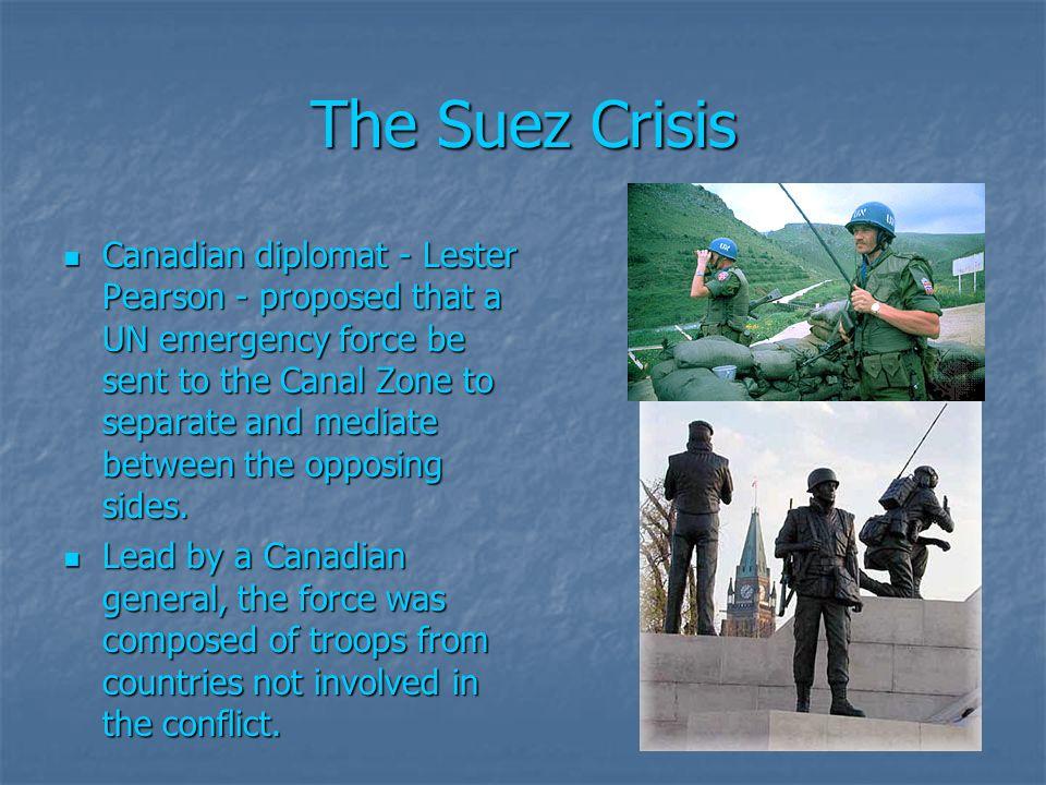 suez crisis canada