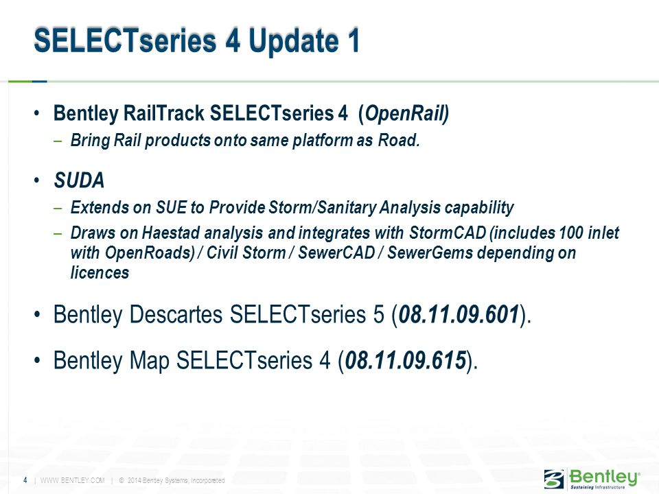 Bentley Civil V8i SELECTseries 4 MR1 & Beyond - ppt video online