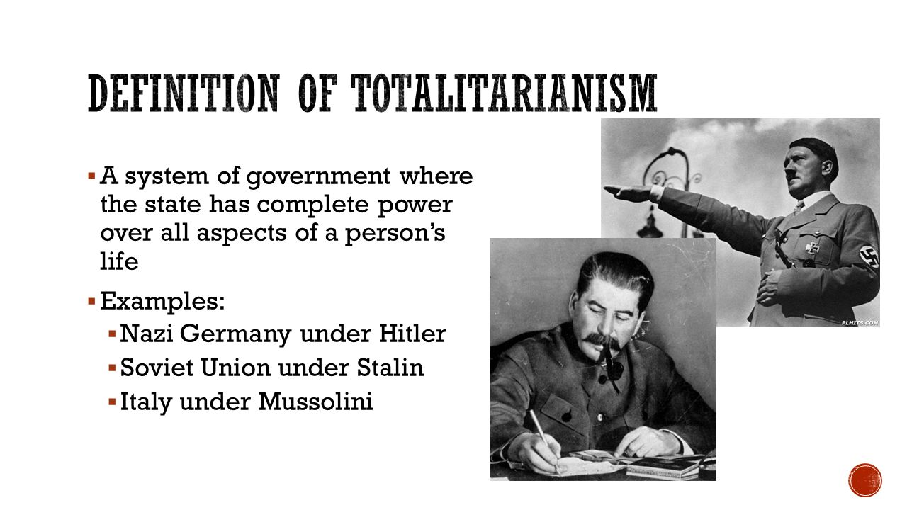 stalin and totalitarianism Totalitarianism is like rules and regulations of private and public behavior its basically like laws in a state joseph stalin was a strong believer in totalitarianism.