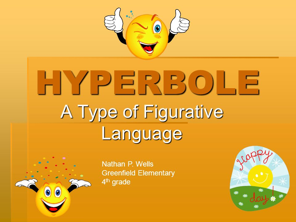 types of figurative expression