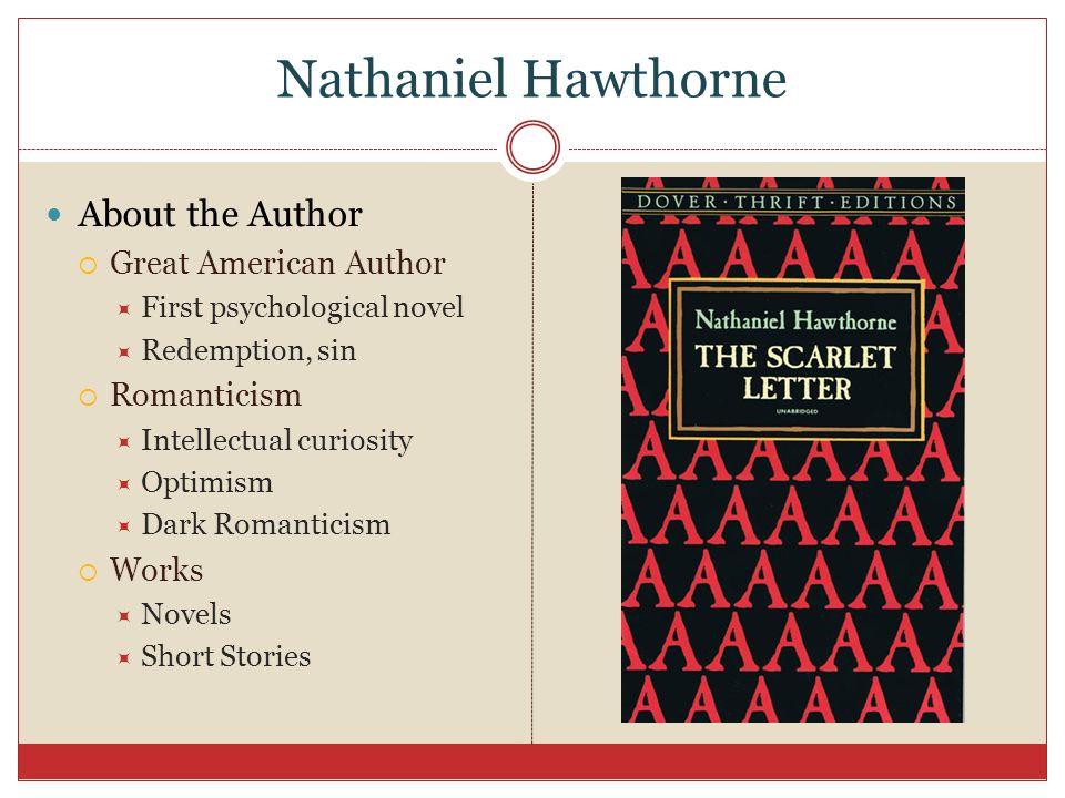 scarlet letter as a psychological novel