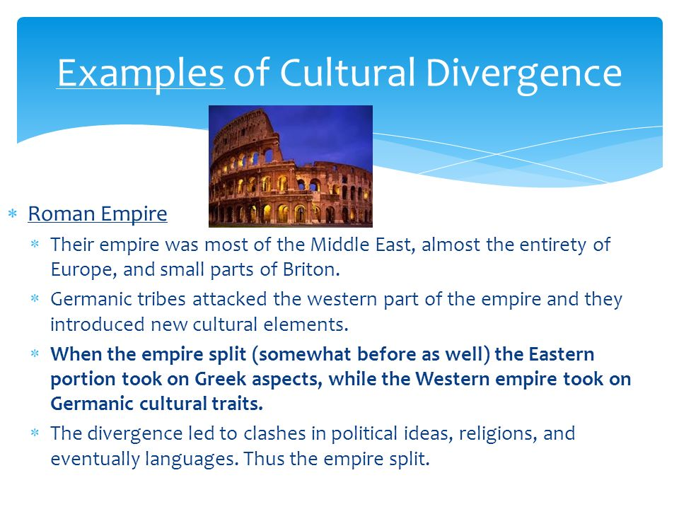 cultural convergence definition geography
