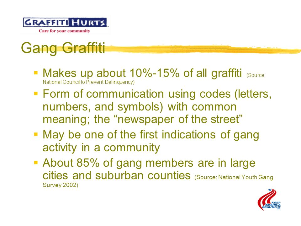 Graffiti Hurts Swiss Cheese Ppt For Keep America Beautiful