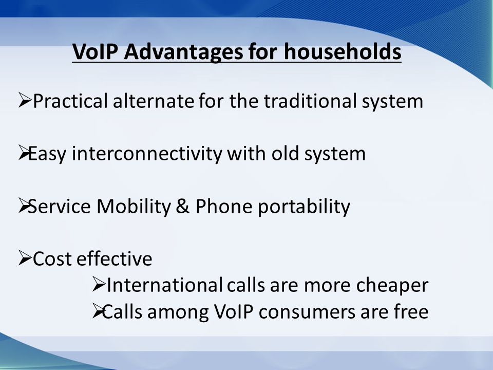 Voice over Internet Protocol (VoIP) - ppt video online download