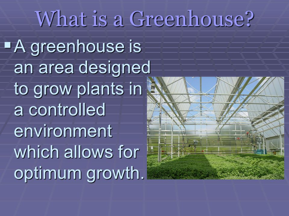 Greenhouse Types  - ppt video online download
