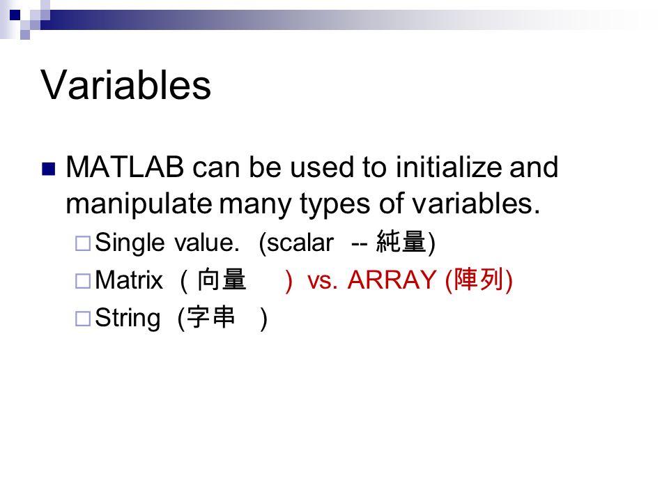 Basic MATLAB Programming Course - ppt download