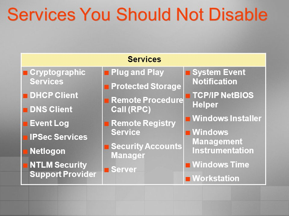 Implementing Server Security on Windows 2000 and Windows