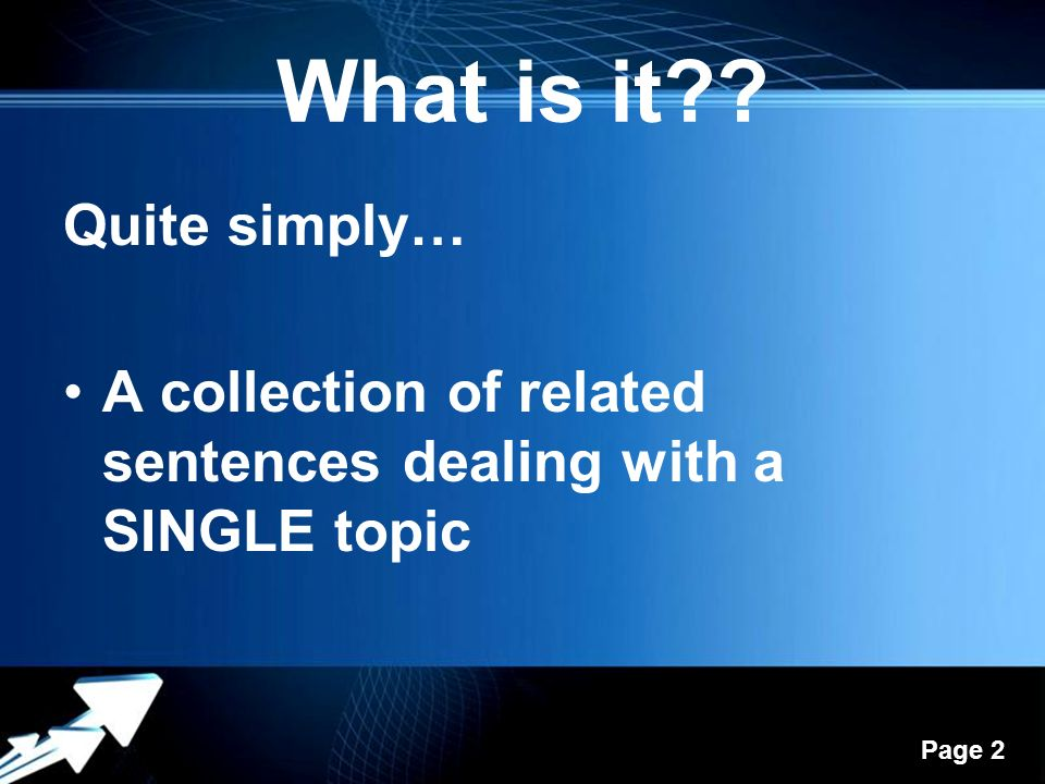 The paragraph powerpoint templates ppt video online download what is it quite simply toneelgroepblik Gallery