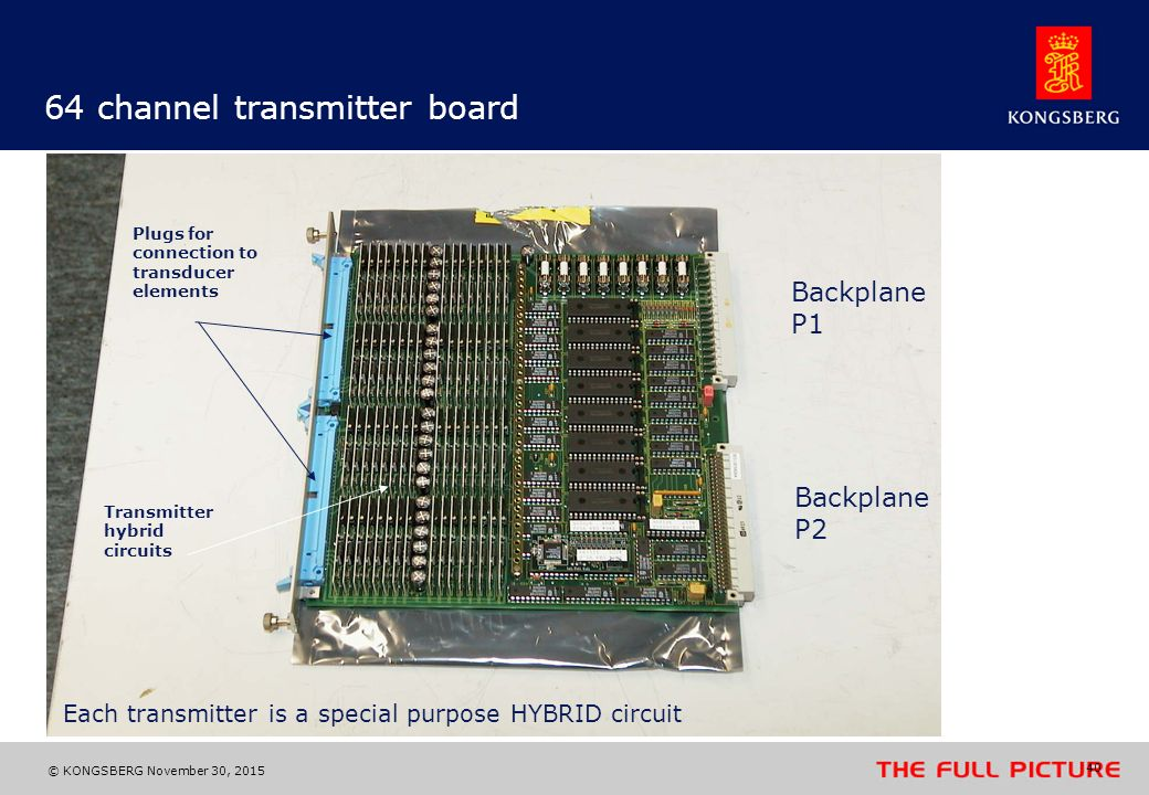 64 channel transmitter board