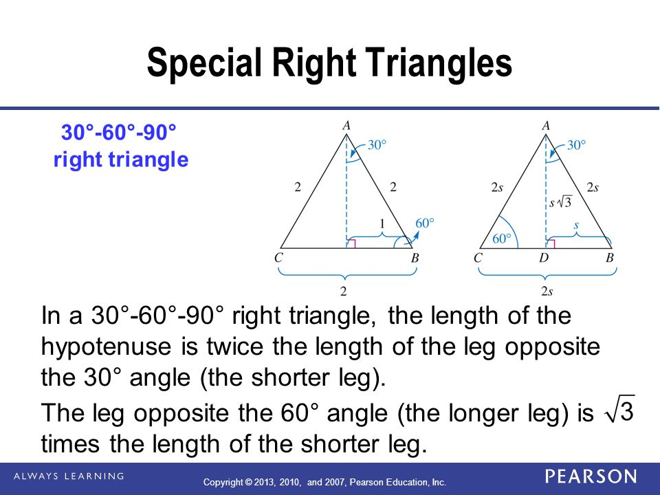 14 Chapter Area Pythagorean Theorem And Volume Ppt Download. Special Right Triangles. Worksheet. Special Right Triangles Worksheet Form K At Clickcart.co