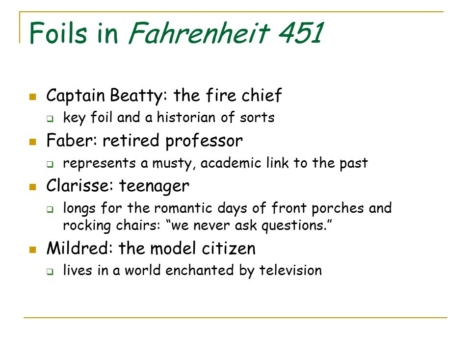 questions to ask about fahrenheit 451