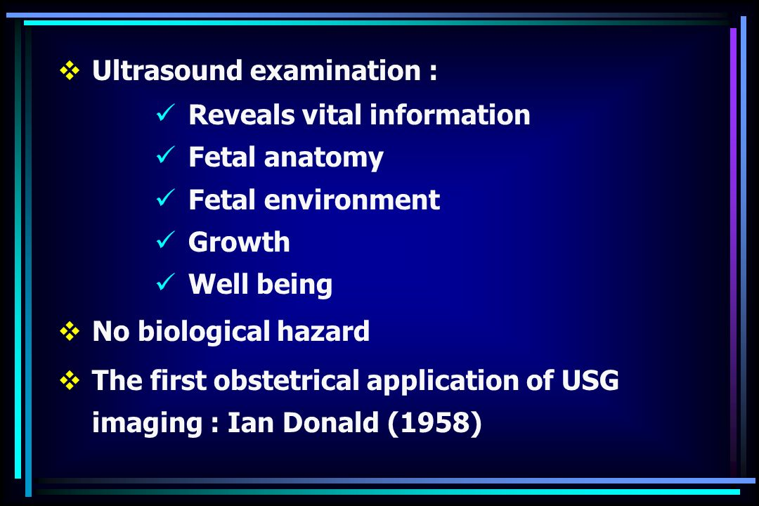 Ultrasound in pregnancy ppt