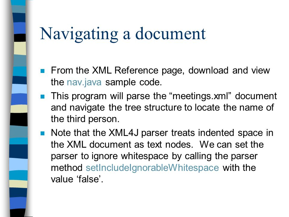 XML Study-Session: Part III - ppt video online download