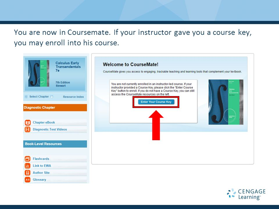 Walkthrough for coursemate new user registration ppt video 10 you fandeluxe Image collections