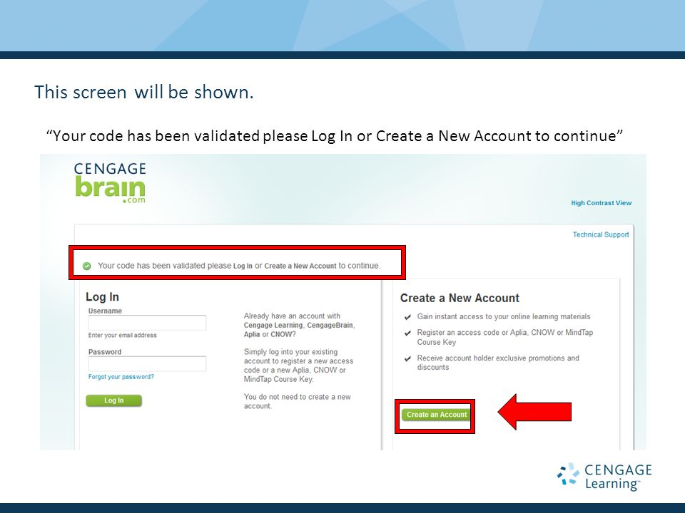 Walkthrough for coursemate new user registration ppt video 3 this fandeluxe Choice Image