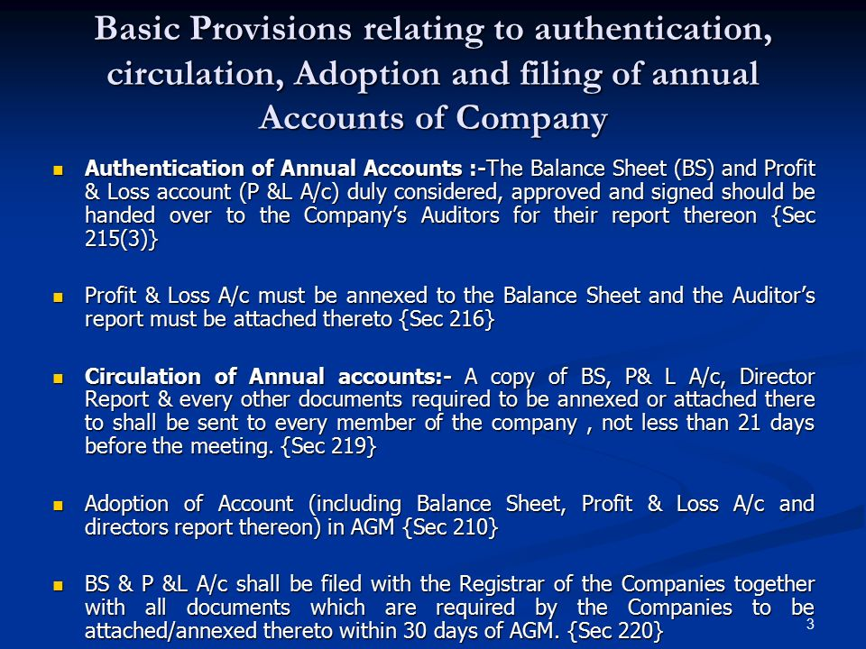 rights and duties of an auditor of a company